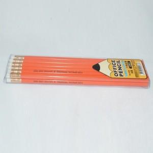12入雄獅HB六角鉛筆