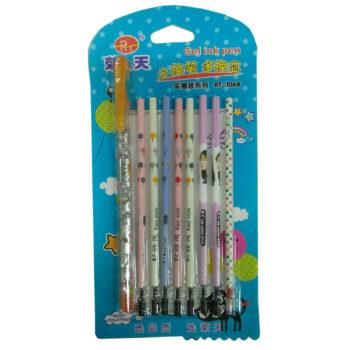 8芯+筆管中性筆30