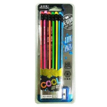 6角鉛筆12入80